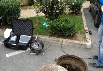 Inspection télévisée des réseaux d'assainissement